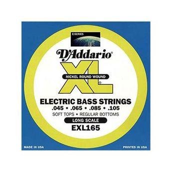 D'Addario - Jeu de cordes pour Basse - EXL165