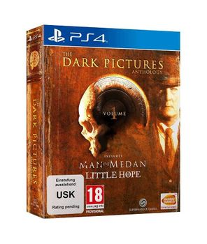 The Dark Pictures: Vol. 1 includes Man Of Medan + Little Hope PS4