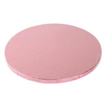 Support à gâteau rond - rose - Ø25cm