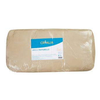Argile naturelle - Blanche - 10 kg - Créalia