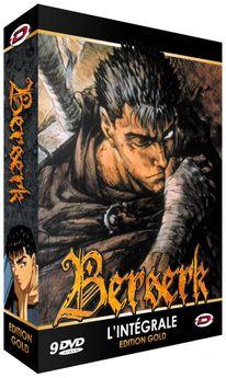 Berserk - Coffret 9 DVD + Livret - Edition Gold