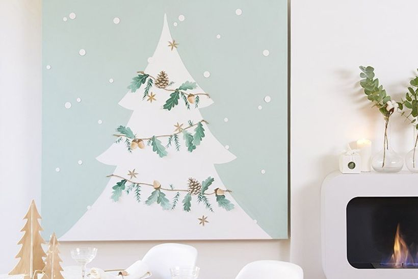 DIY - Tableau de Noël