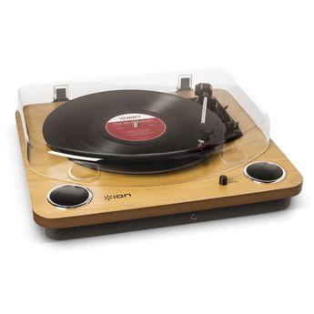 ION - Platine Vinyle Ion MAX LP WOOD