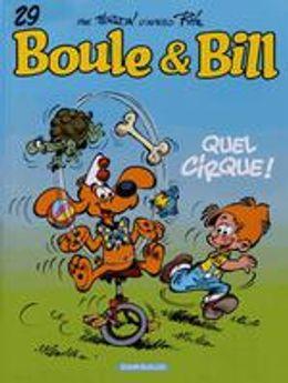Boule et Bill Volume 29, Quel cirque !
