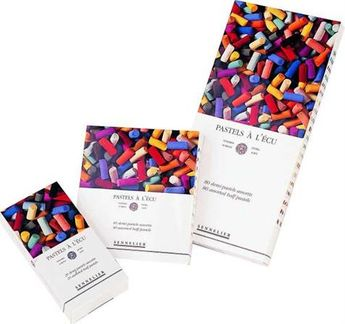 Boîte carton Pastel Ecu Introduction 24 Pastels