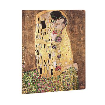 100ème Anniversaire de la Mort de Klimt – Le Baiser - feuilles blanches