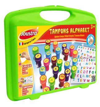 Petite mallette de tampons alphabet - Joustra