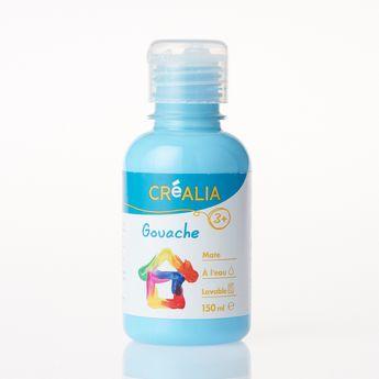 Gouache - Créalia - 150 ml - Bleu Ciel