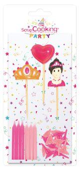 """12 Bougies + 3 Bougies """"Princesse"""""""