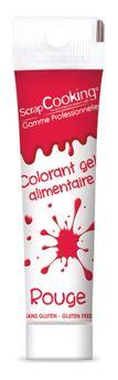Colorant Gel Tube 20g Rouge