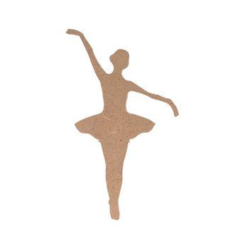 silhouette mdf 15cm danseuse