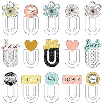 15 bookmarks good vibes