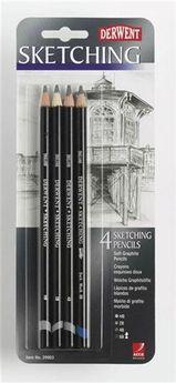 Blister 4 crayons Sketching