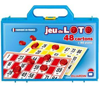 Mallette loto 48 cartons