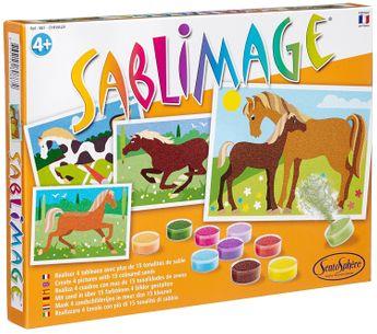 Kit créatif Sablimage - chevaux