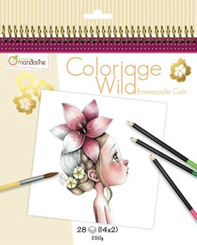 Carnet de coloriage collector