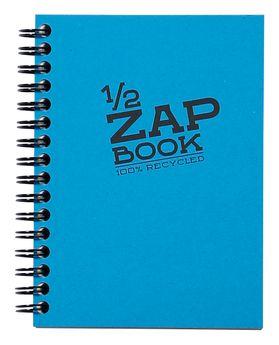 1/2 Zap Book carnet spiralé 80F A6 80g