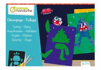 Boîte créative, Découpage-collage monstres
