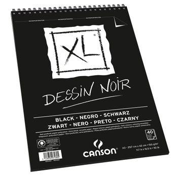 Album XL noir A3 - 40 feuilles