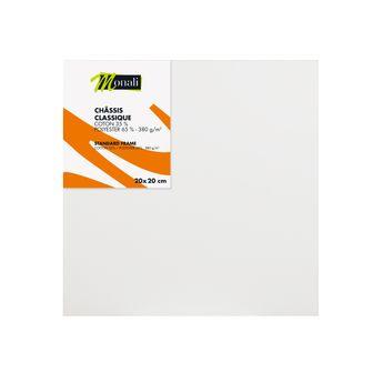 Châssis - toile synthétique Monali - 20 x 20 cm