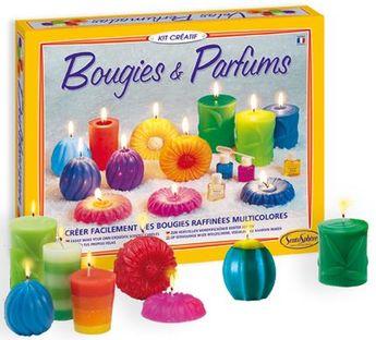 Coffret Bougies et parfums Nature